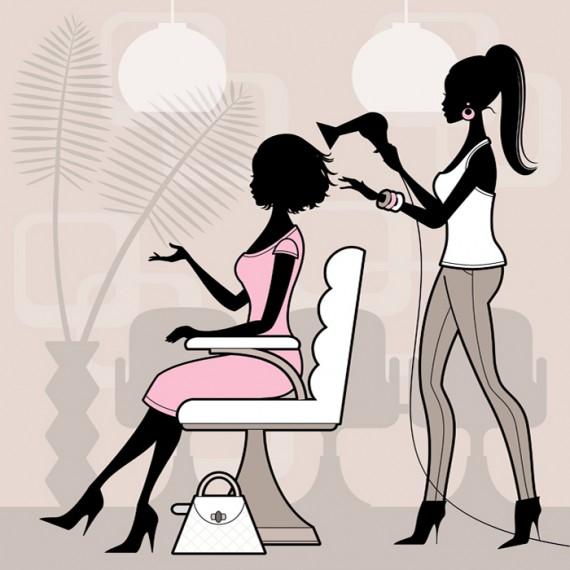 Site Internet pour salon de coiffure